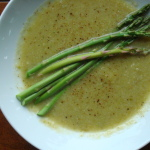 Cauliflower and Asparagus Soup