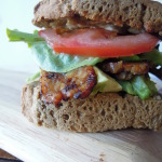 Tempeh Bacon Sandwiches