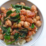 Sweet & Spicy Chickpeas