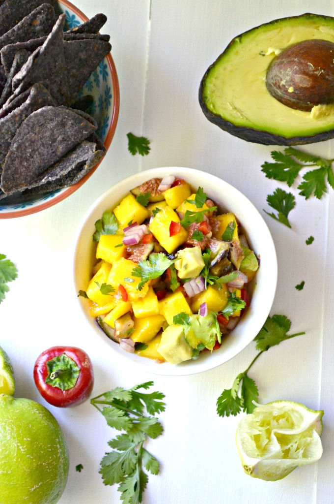 Avocado Mango Fig Salsa