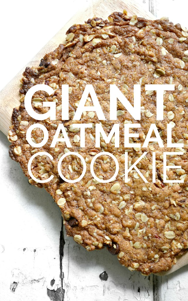 Giant Break-Apart Oatmeal  Chocolate Chip Cookie