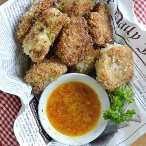 Once you pop these Crispy Coconut Cauliflower Bites into your mouth, you won't be able to stop!