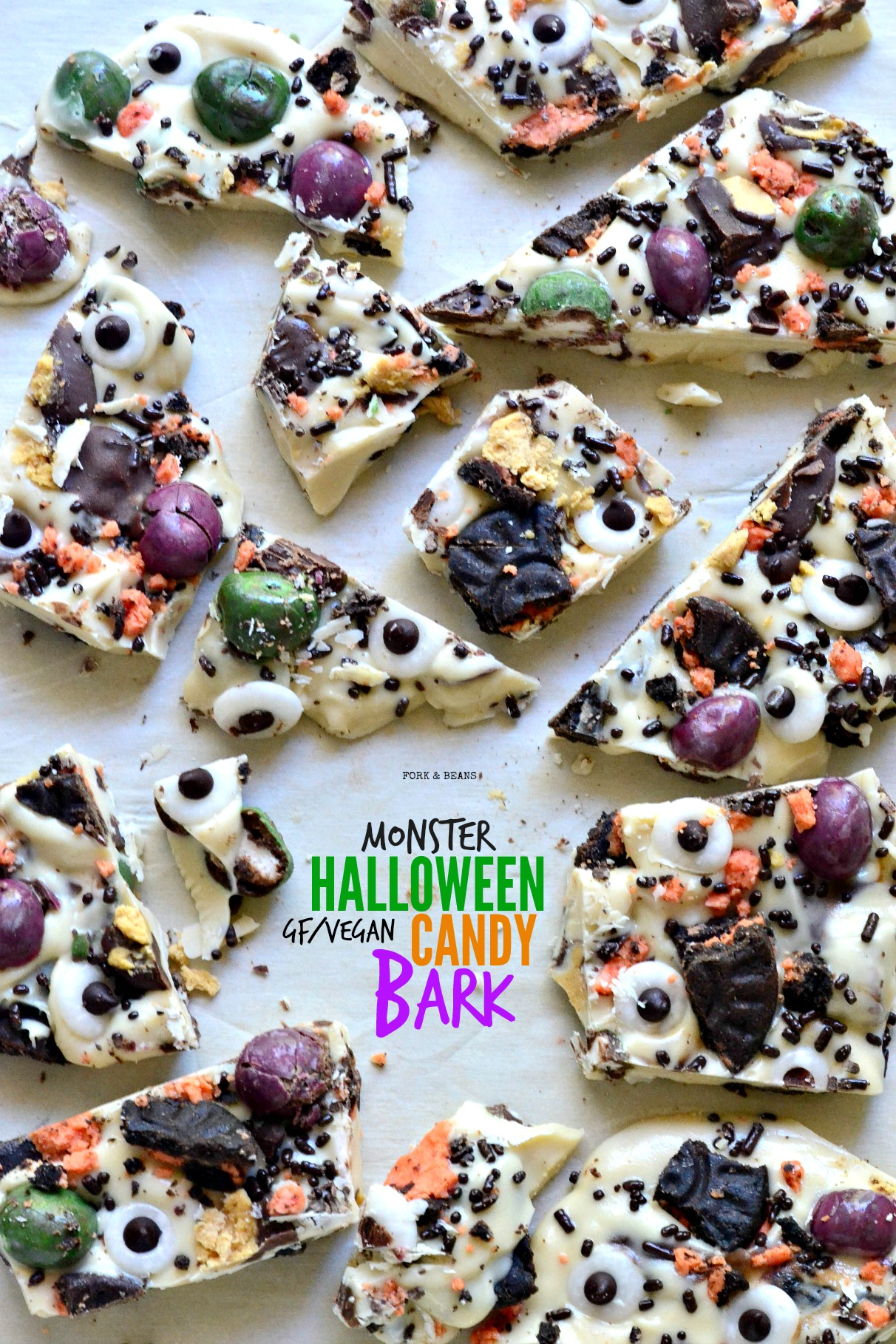 all your favorite vegan candy bars coated with vegan white chocolate to make this easy halloween - Easy Halloween Candy Recipes