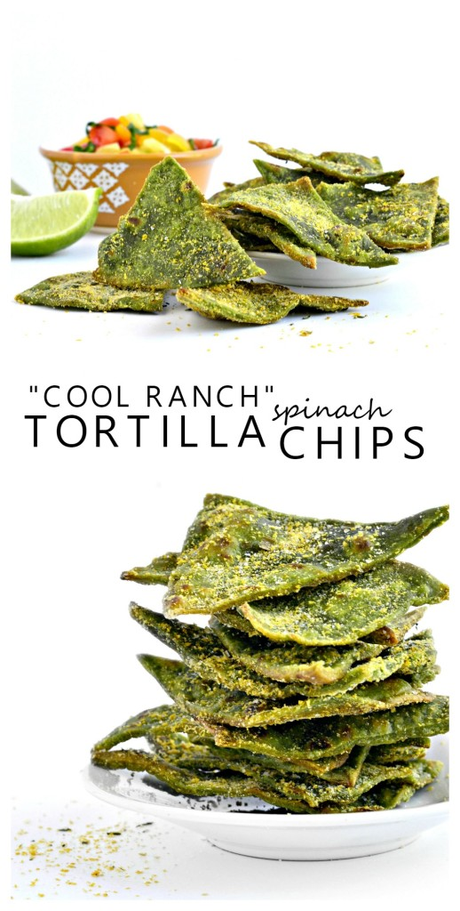 "A vegan seasoning blend to create ""Cool Ranch"" Spinach Tortilla Chips made from Otto's grain free flour."