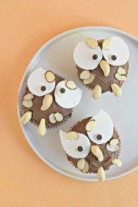 The CUTEST owl cupcakes that just so happen to be gluten free and vegan!