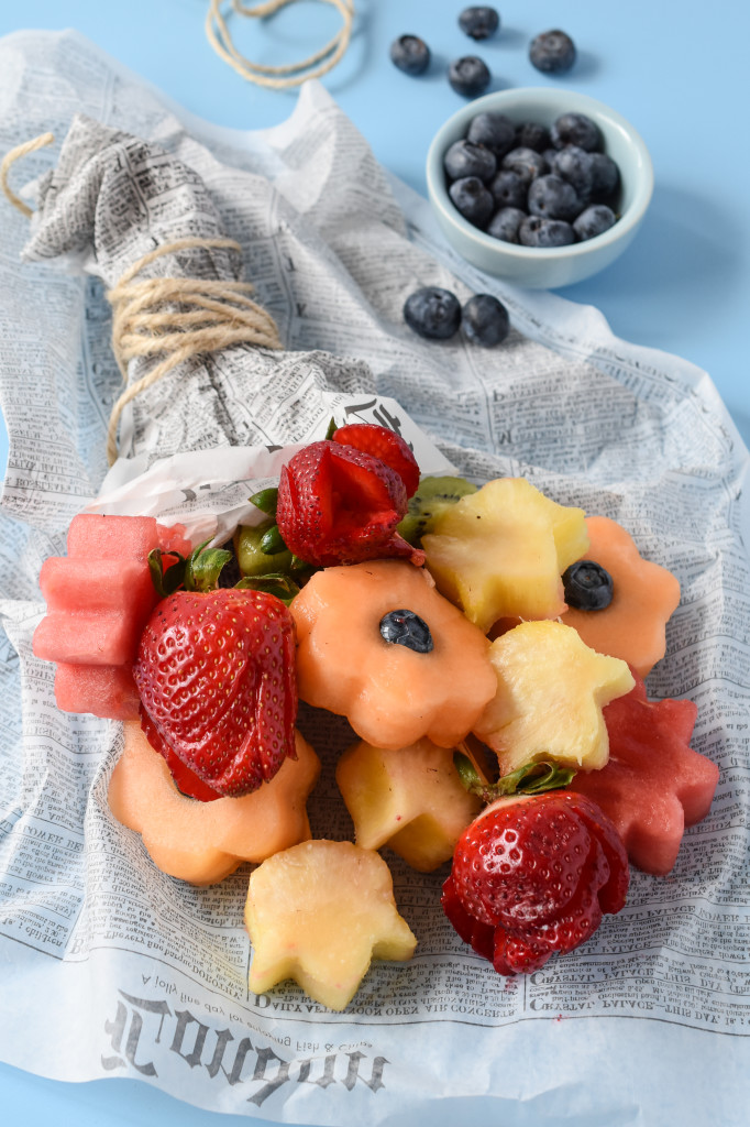 Make your mom (or the woman you love) the freshest, healthiest treat with these edible fruit bouquets!