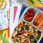 Loaded Veggie Lunchbox Pasta Salad