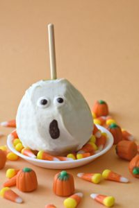 Dairy Free White Chocolate Pear Ghosts