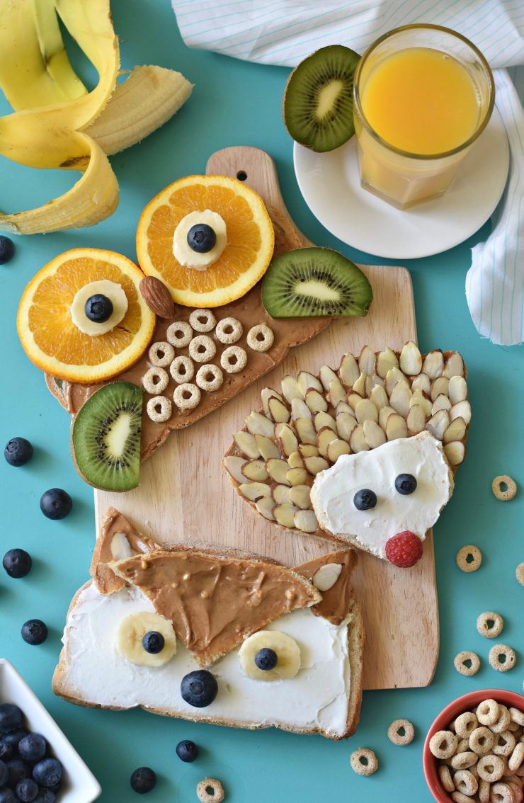 Woodland Animal Toast